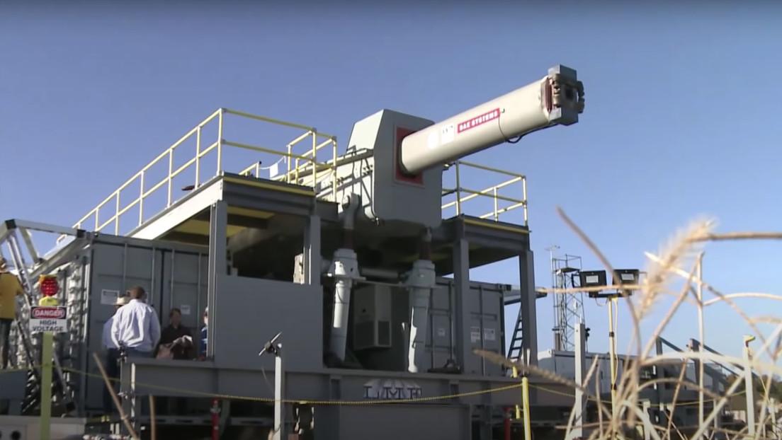 La Armada de EE.UU. tumba el proyecto de su cañón electromagnético