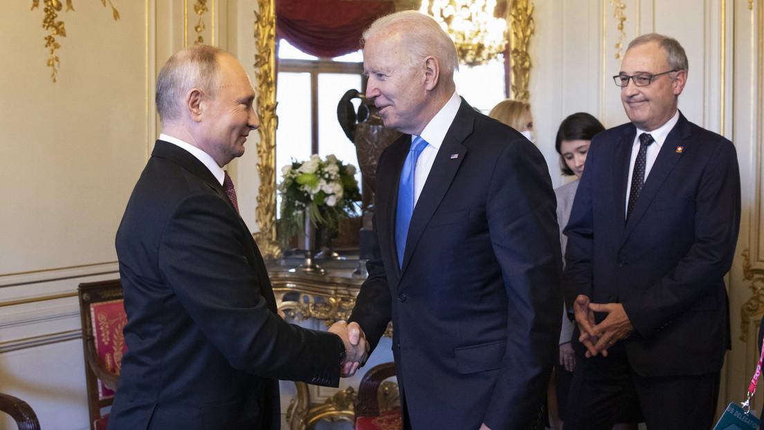 Los resultados y el transcurso de la cumbre en Ginebra en declaraciones de Vladímir Putin y Joe Biden