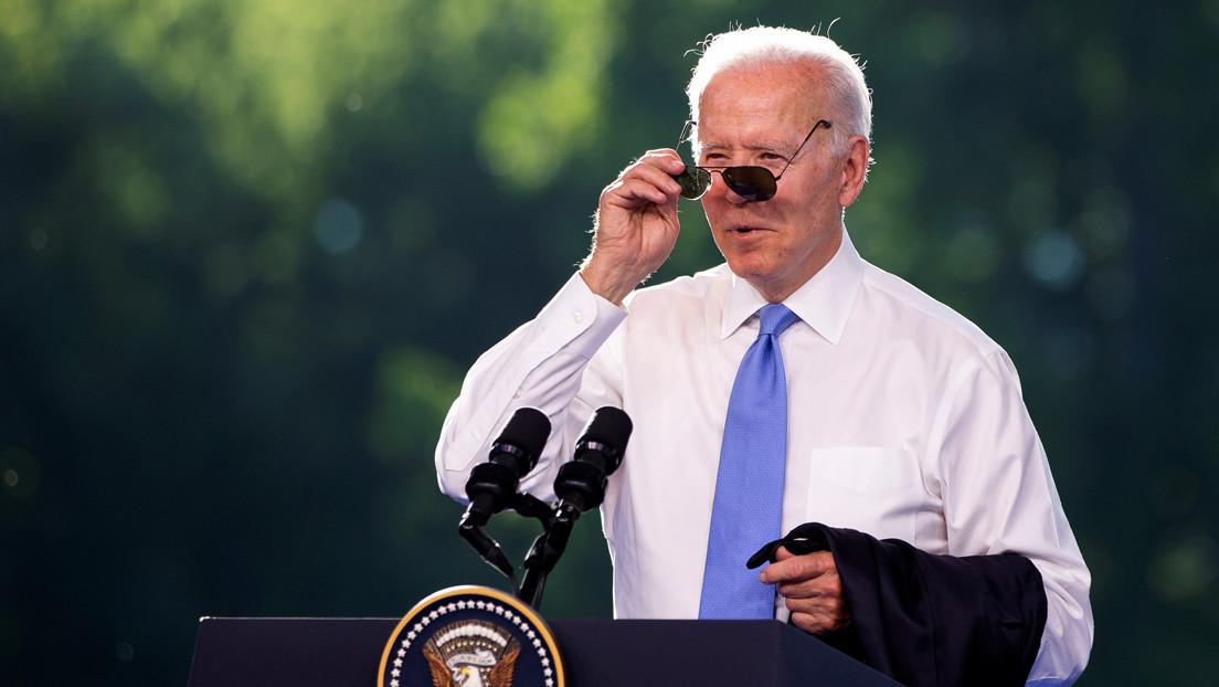 """""""¿Qué demonios? ¿Qué ha hecho todo el tiempo?"""": Biden arremete contra una periodista de la CNN durante su rueda de prensa tras la cumbre con Putin"""