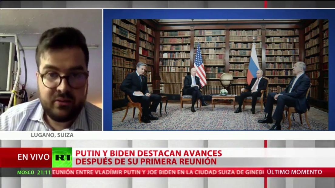 Un politólogo evalúa los resultados de la cumbre Putin-Biden
