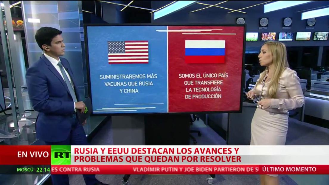 Rusia y EE.UU. destacan los avances y problemas por resolver