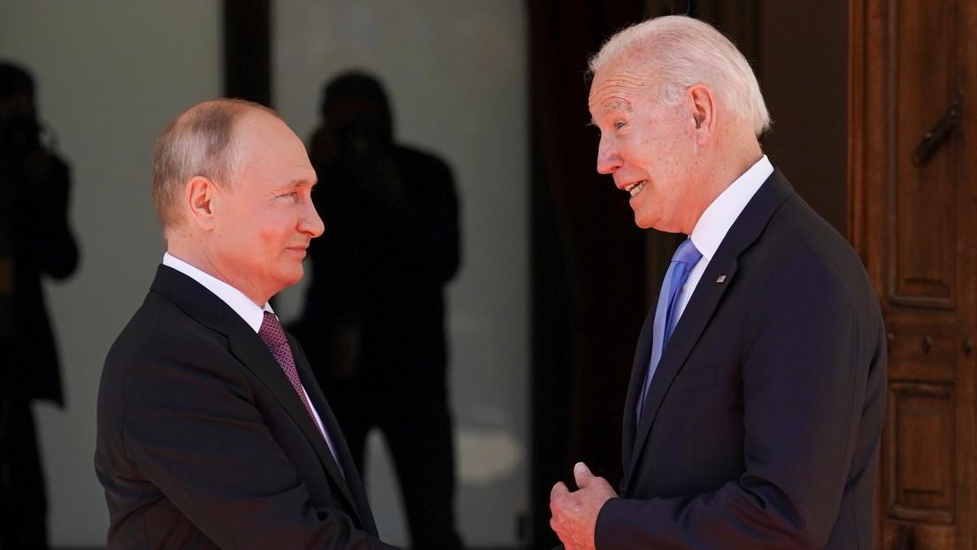 Putin declara que él y Biden lograron entenderse en los temas clave durante la cumbre en Ginebra