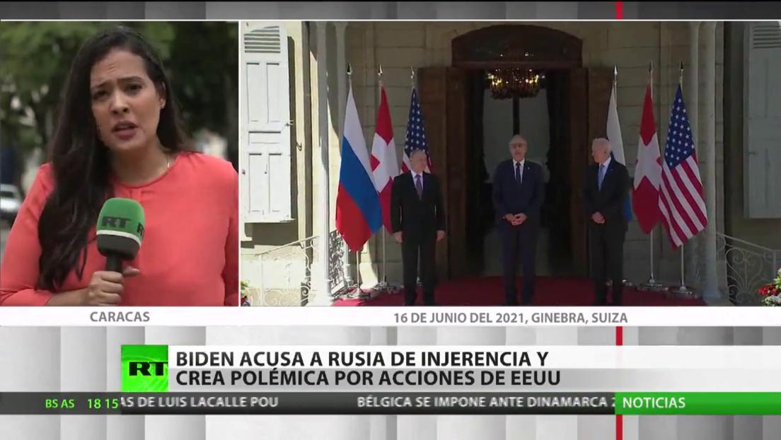 Biden acusa a Rusia de supuestas injerencias en las elecciones y crea polémica por acciones de este tipo de EE.UU.