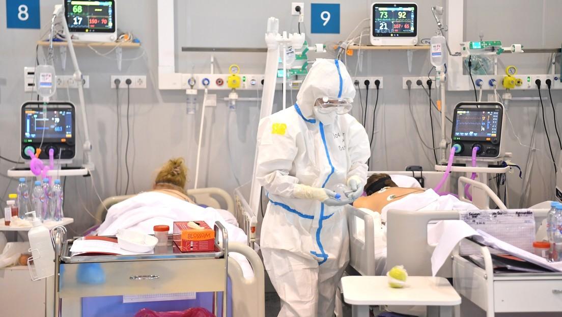 Moscú registra un récord de infecciones diarias con coronavirus desde el inicio de la pandemia, con más de 9.000 casos en las últimas 24 horas
