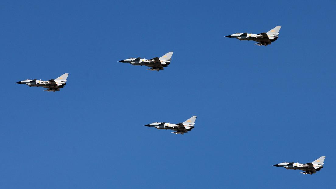Taiwán reporta otra llegada de 7 aviones militares chinos a su zona de identificación de defensa aérea