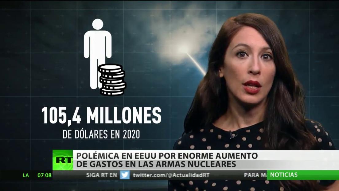 Polémica en EE.UU. por el enorme aumento del gasto en armas nucleares