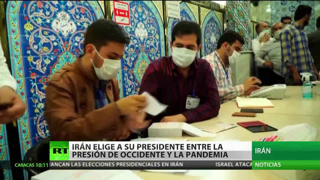 Irán elige a su presidente entre la presión de Occidente y la pandemia