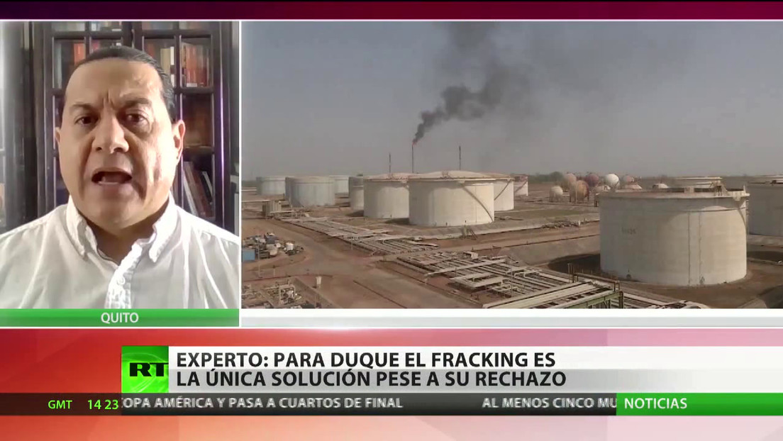 Economista opina que el 'fracking' es la única solución para Colombia