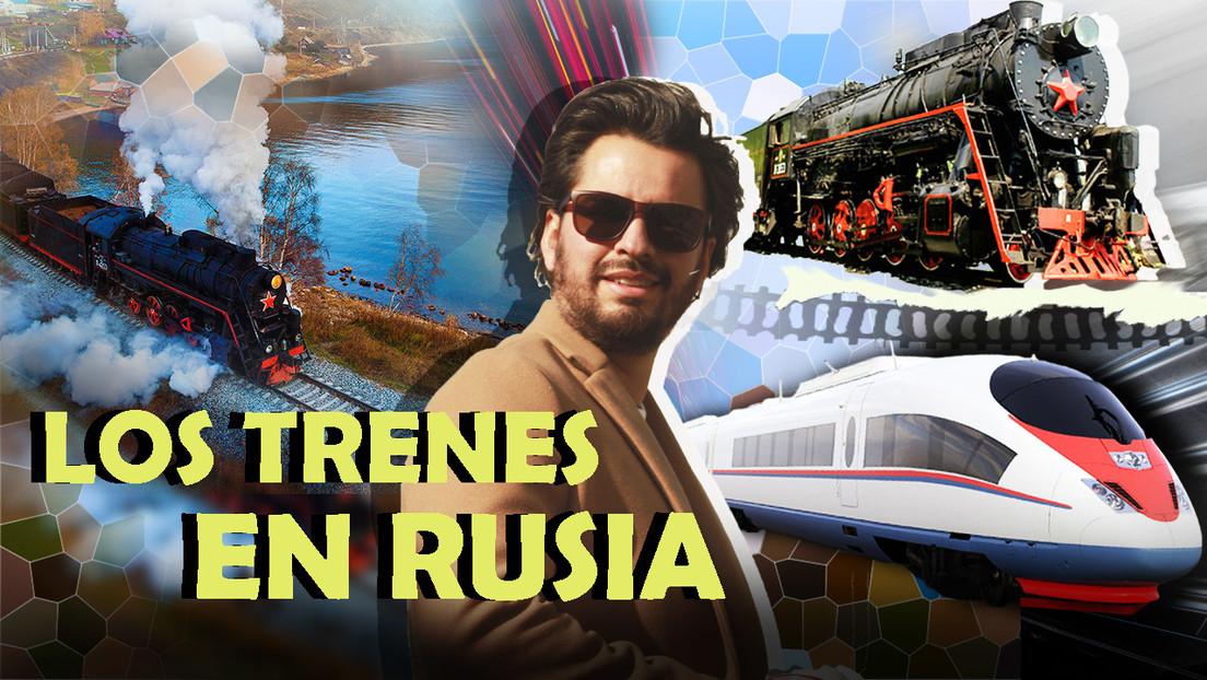 Por Rusia en Tren