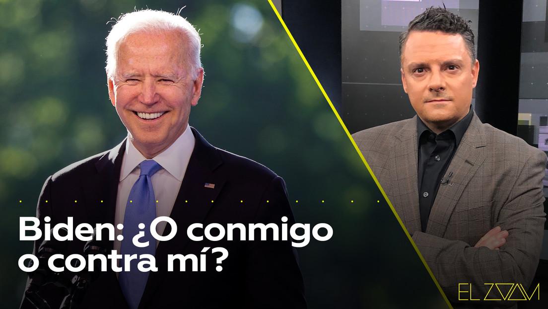 Biden: ¿O conmigo o contra mí?