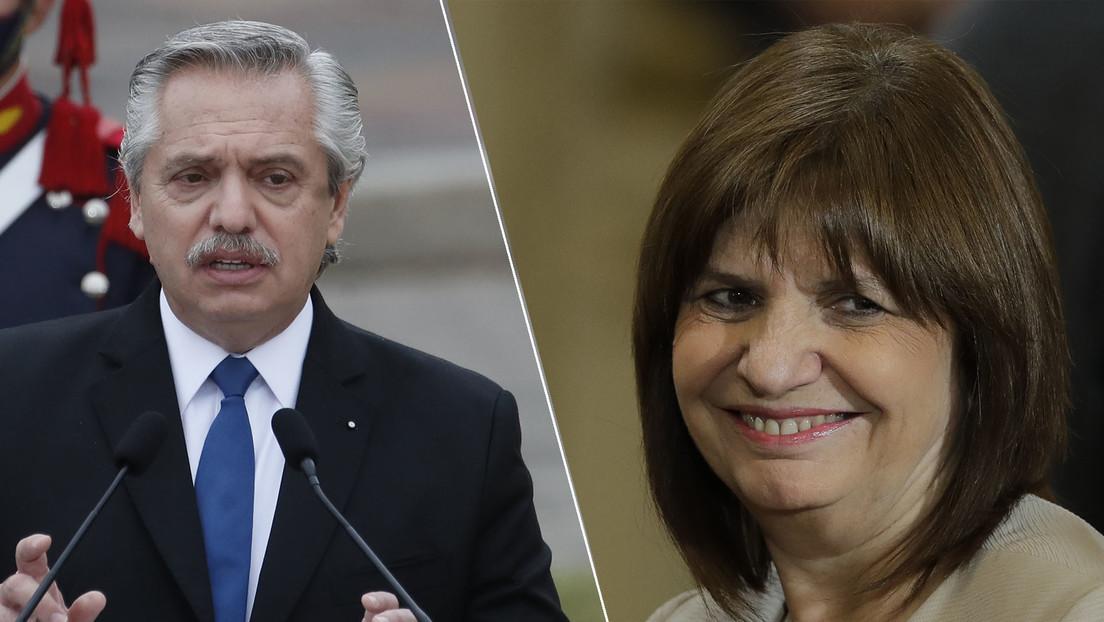 Fracasa una concilliación y Alberto Fernández demandará a la opositora Bullrich por una falsa acusación de sobornos en las negociaciones con Pfizer