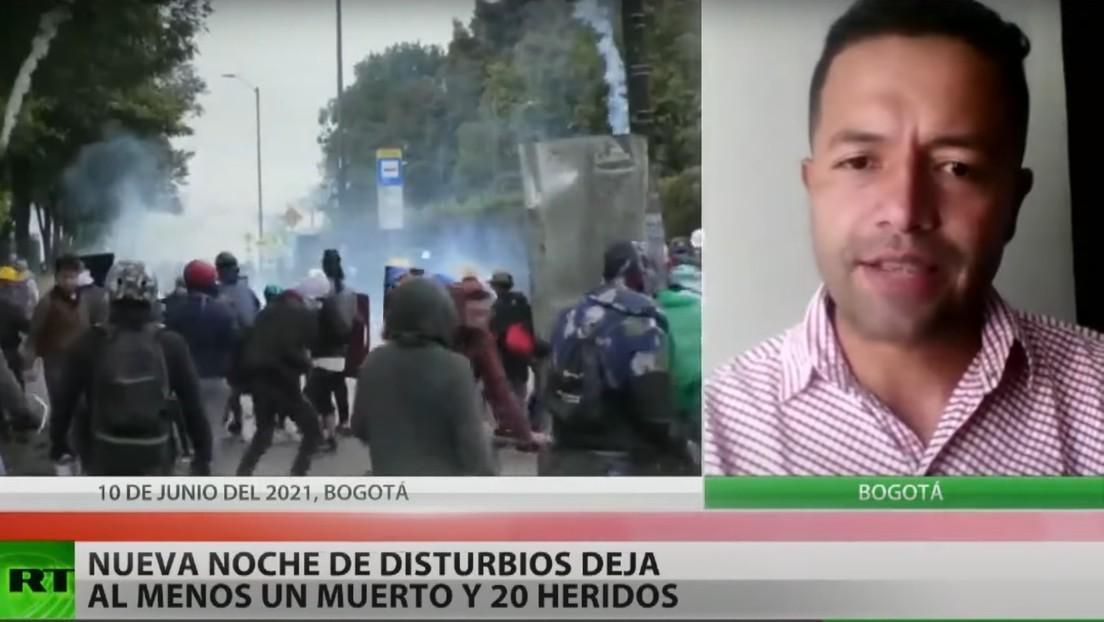 """Activista: """"Lo único que se está generando en Colombia es muerte y sangre porque el Gobierno no escucha tantas problemáticas y tantas necesidades"""""""