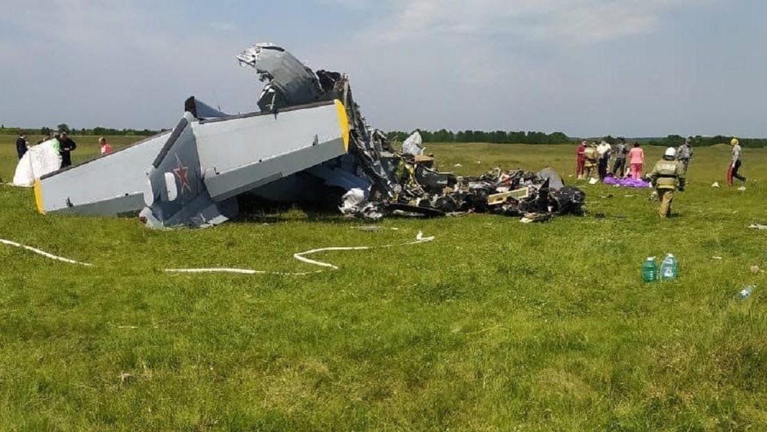 Varios muertos y heridos al estrellarse una avioneta con paracaidistas a bordo en Siberia