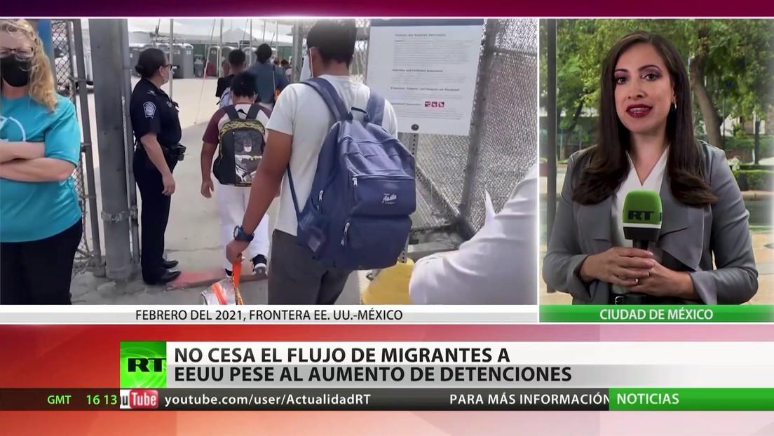 No cesa el flujo de inmigrantes a EE.UU. pese al aumento de las detenciones