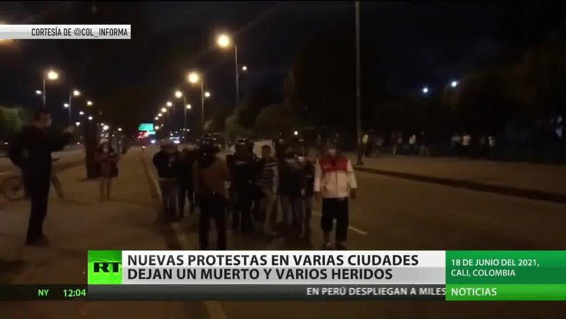Permiten el uso de la fuerza contra los bloqueos tras cambio de legislación en Colombia