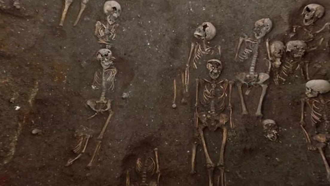 Un nuevo estudio arroja luz sobre cómo enterraron a personas durante la peste negra, al ser halladas tumbas individuales