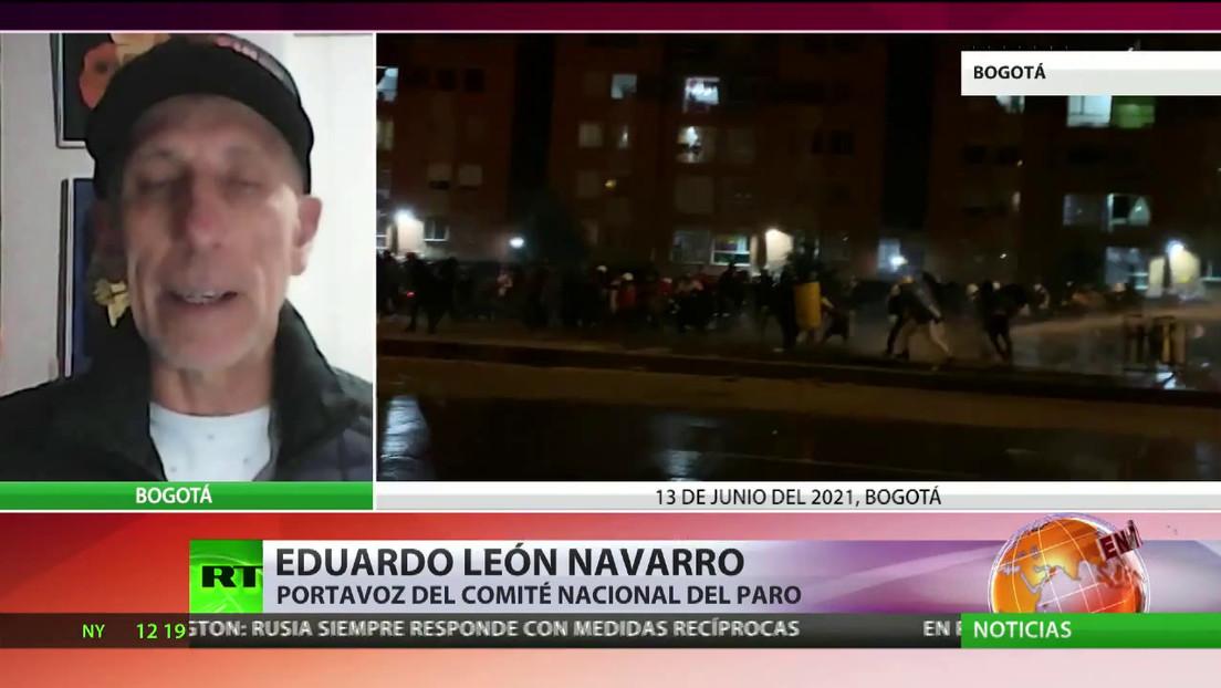Se mantienen las protestas en Colombia, pese a que el Comité del Paro las suspendió
