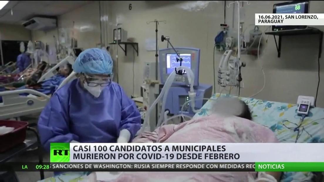 Casi 100 candidatos a intendentes y concejales han muerto desde febrero por covid-19 en Paraguay