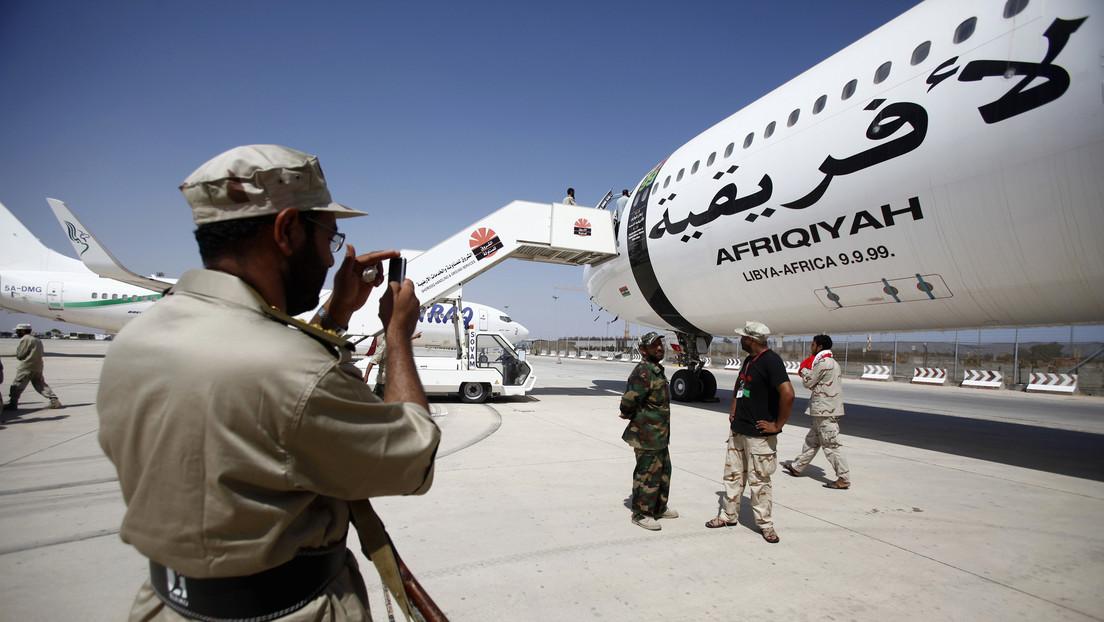 Vuelve a Libia el avión presidencial de Muammar Gaddafi 10 años después