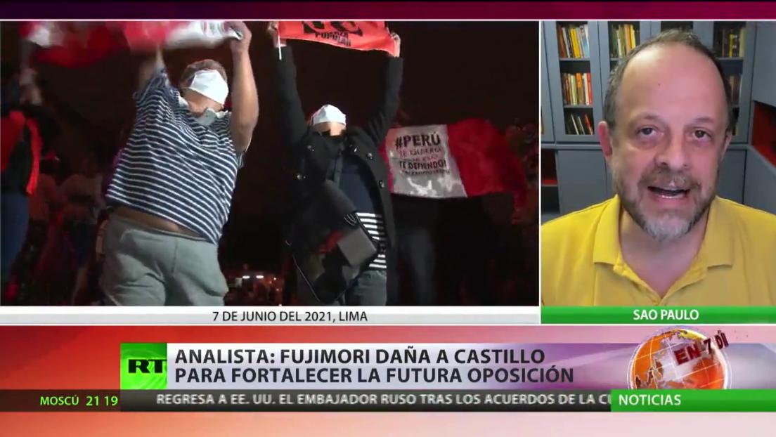 "Analista: ""Fujimori daña a Castillo para fortalecer la futura oposición"""
