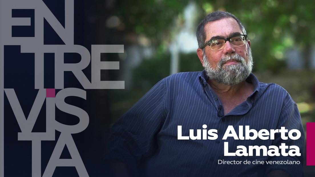 """Luis Alberto Lamata, director de cine venezolano: """"Cualquier país que no tenga una imagen audiovisual de sí mismo no existe como país"""""""