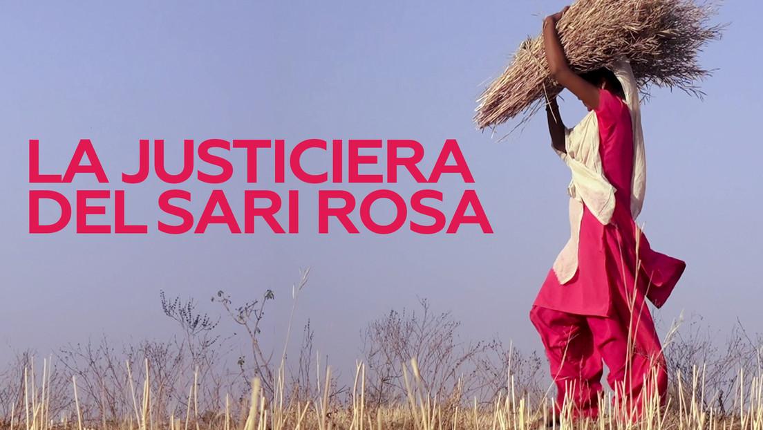 LA JUSTICIERA DEL SARI ROSA