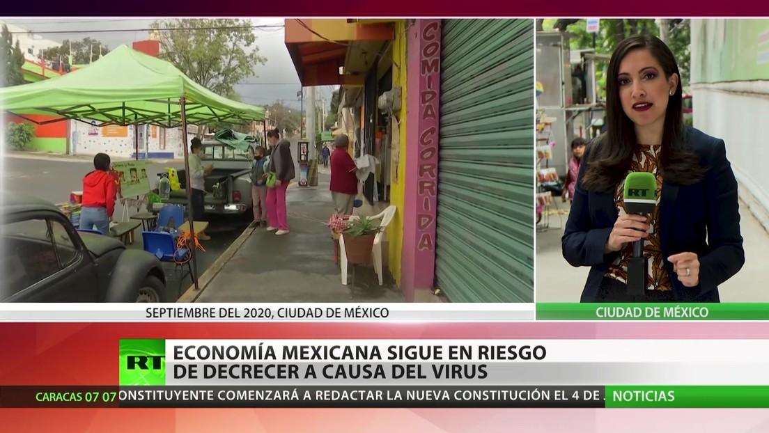 La economía mexicana sigue en riesgo de decrecer a causa de coronavirus