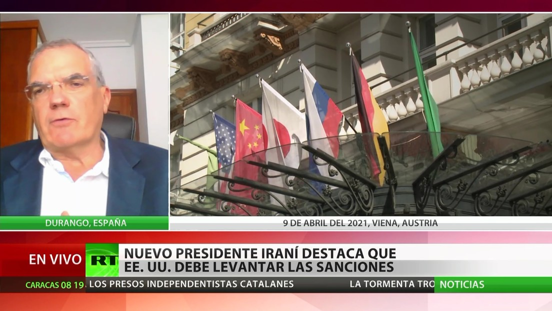 El nuevo presidente iraní afirma que EE.UU. debe levantar las sanciones