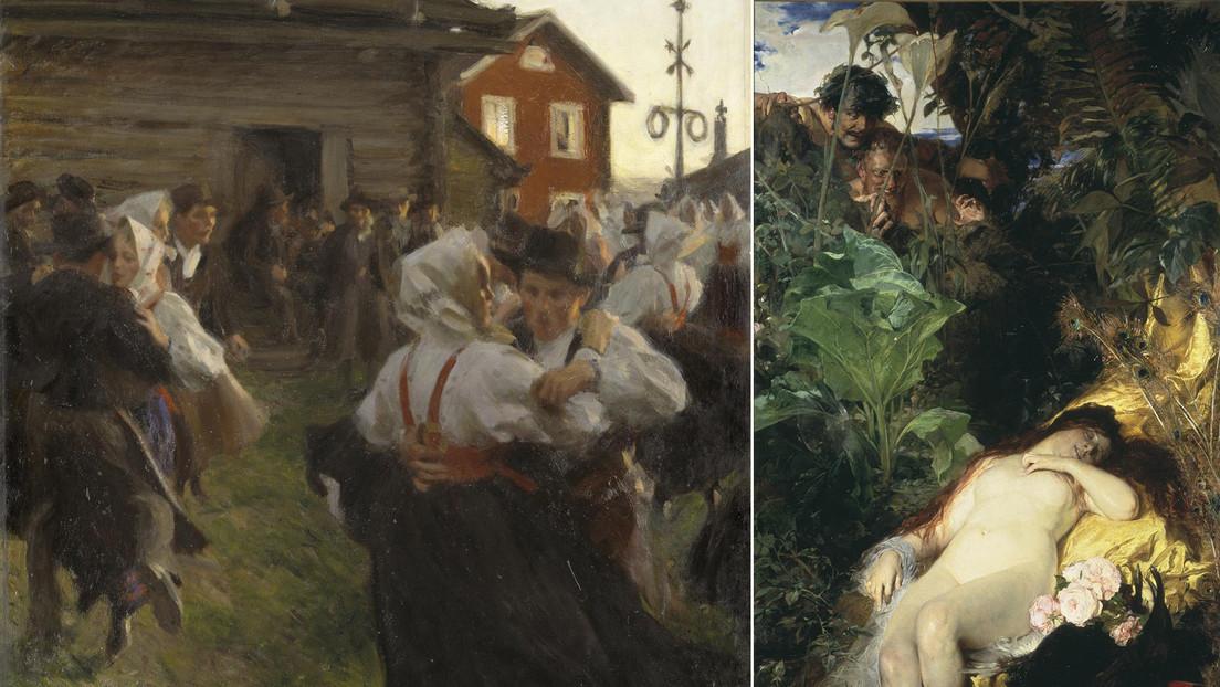 Protestas en redes por tildar de racistas, nacionalistas y sexistas diversas obras de arte clásicas en el Museo Nacional de Suecia (IMÁGENES)