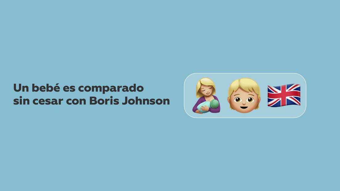 VIDEO: Un bebé es comparado sin cesar con Boris Johnson por su impactante melena rubia