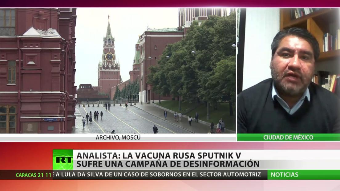 Analista: La vacuna rusa Sputnik V sufre una campaña de desinformación