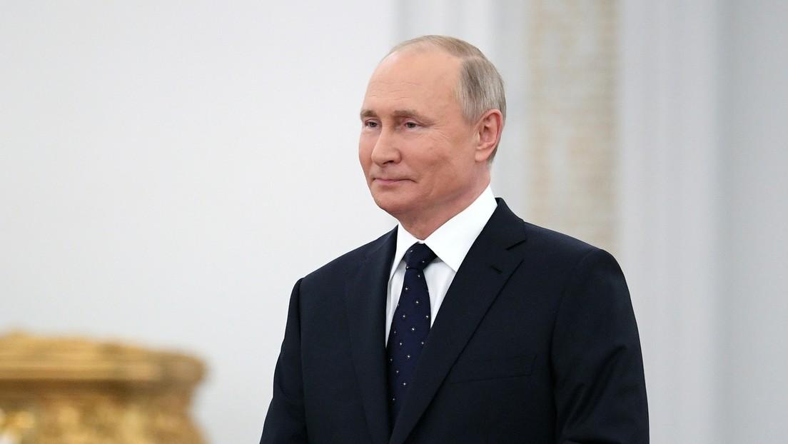 """Putin llama a la comunidad internacional a """"reconocer y corregir"""" los errores del pasado en el 80 aniversario de la invasión nazi de la URSS"""