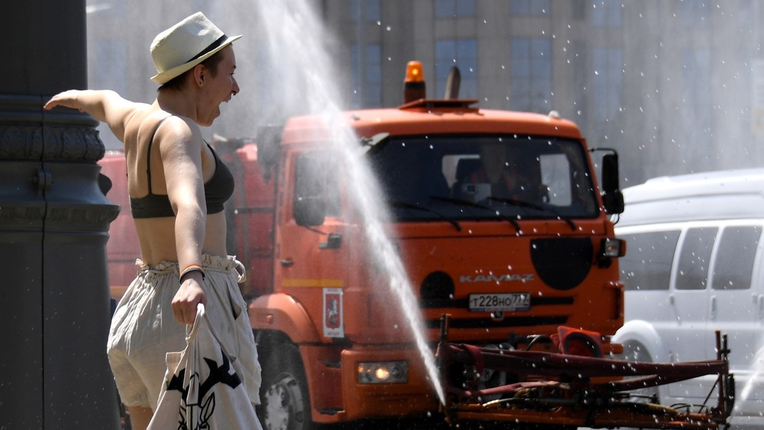 Moscú atraviesa una ola del calor y bate el récord de temperatura diario de 1917