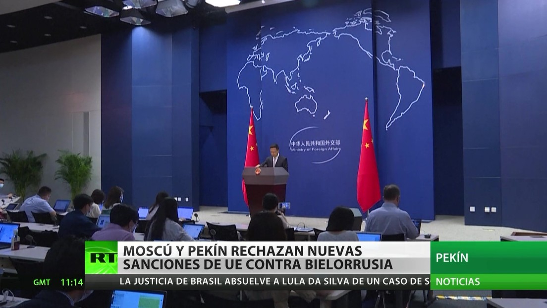Moscú y Pekín rechazan las nuevas sanciones de la UE contra Bielorrusia