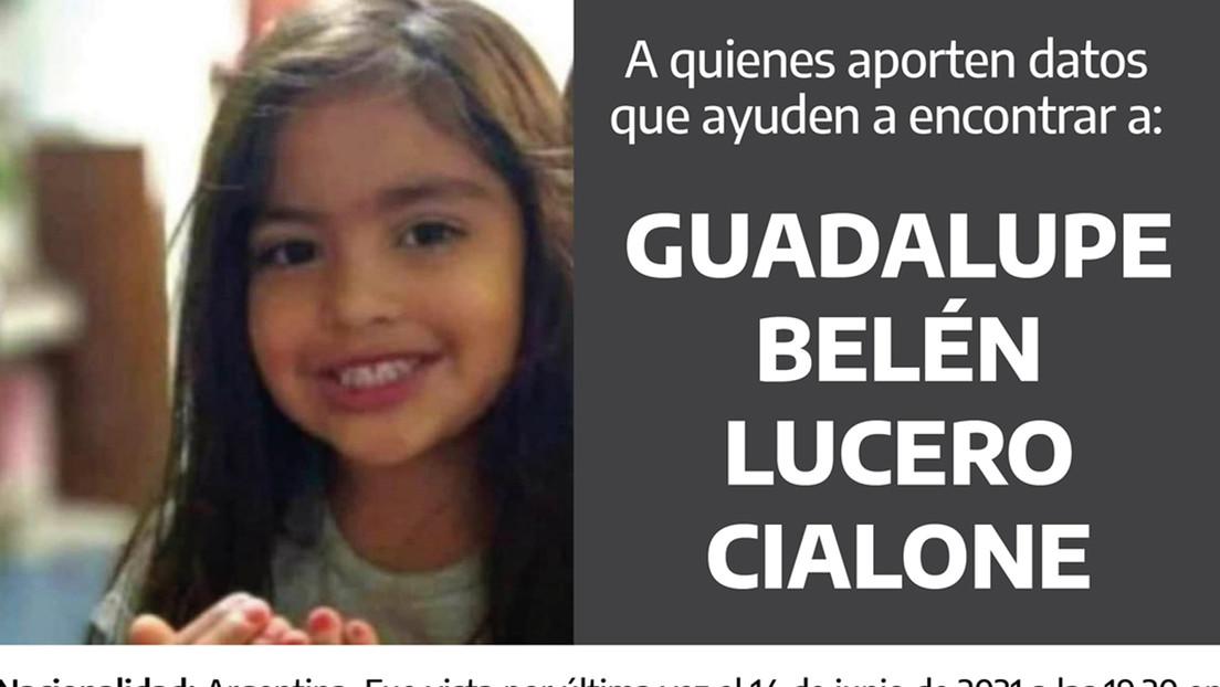 Señales de vida y mensajes de los presuntos captores: surgen pistas de Guadalupe Lucero, la niña argentina desaparecida desde hace ocho días