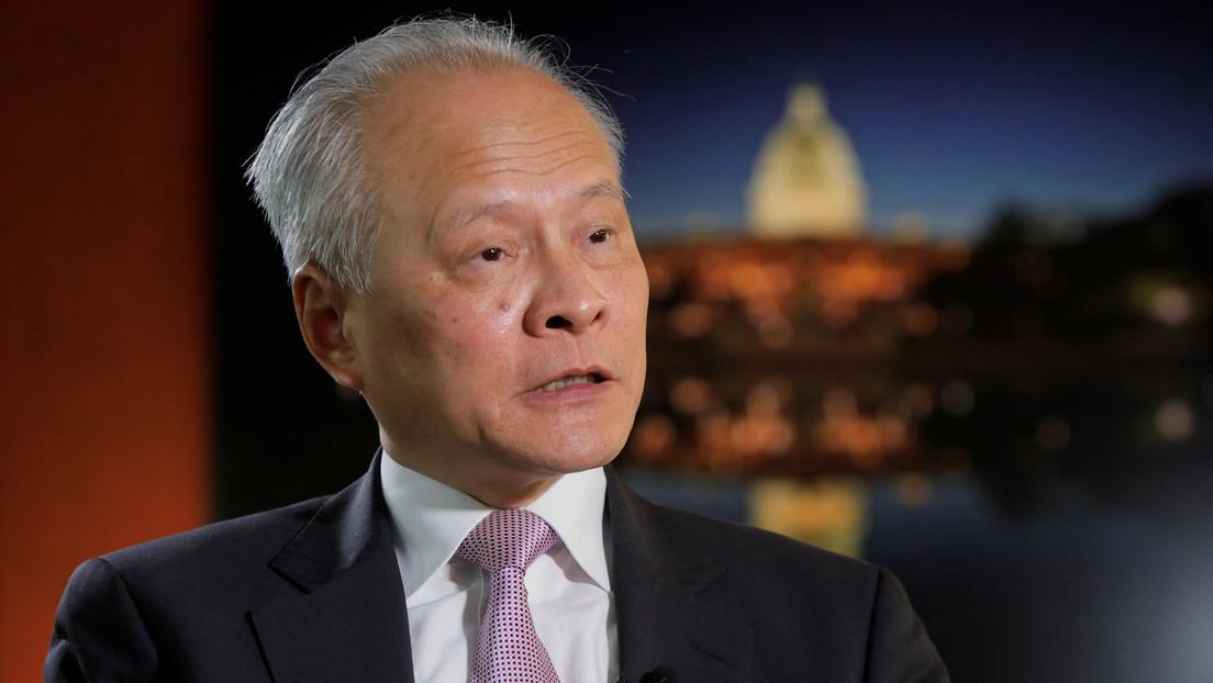 Embajador de China en EE.UU. abandona el cargo tras ocho años de servicio