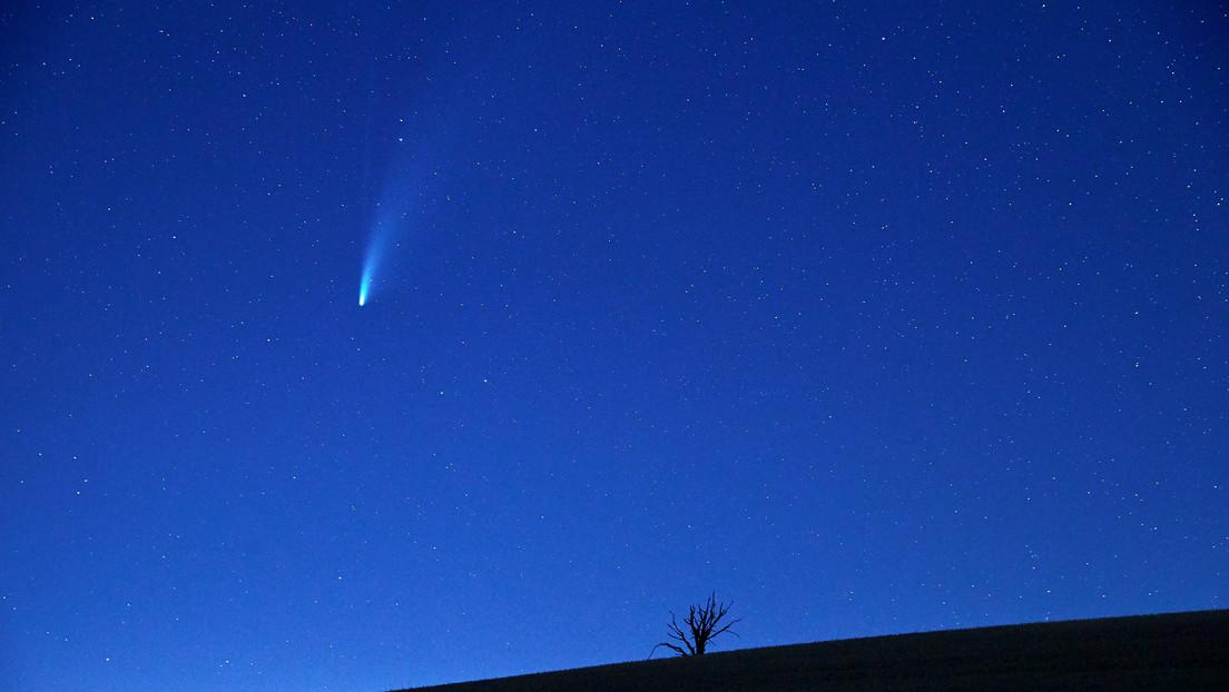 Astrónomos detectan un enorme cometa que se dirige hacia el Sol
