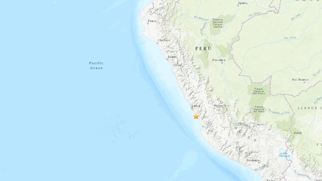 Un fuerte sismo de magnitud 6,0 sacude la capital de Perú (VIDEOS)