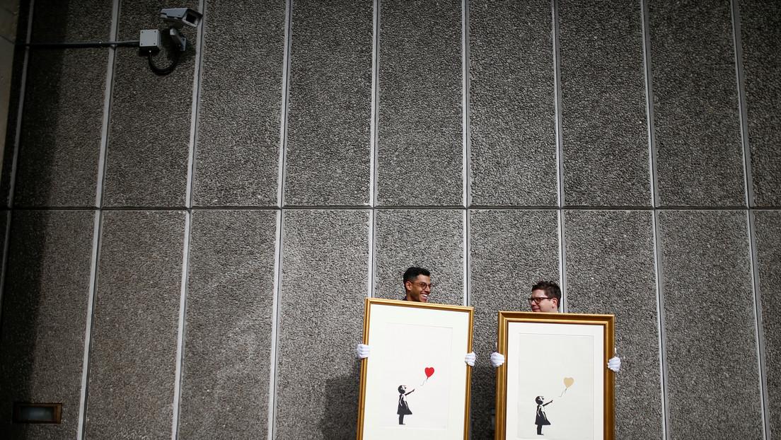 Banksy pierde los derechos de otras dos obras debido a la negativa de revelar su identidad