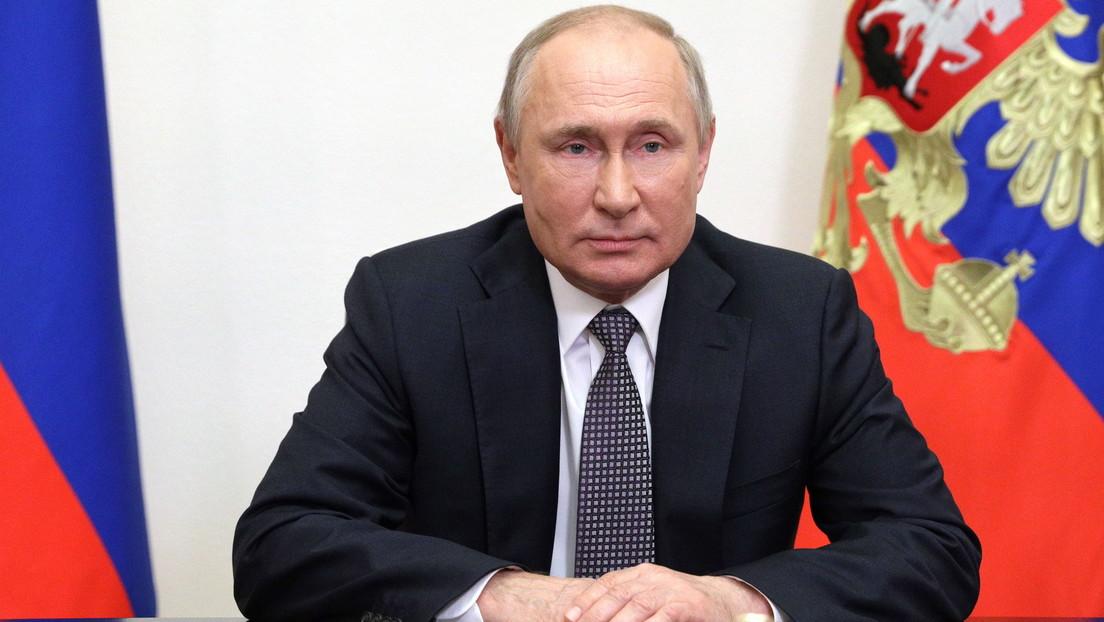 """Putin denuncia """"la erosión del derecho internacional"""" y el aumento de """"la turbulencia de los procesos geopolíticos"""" globales"""