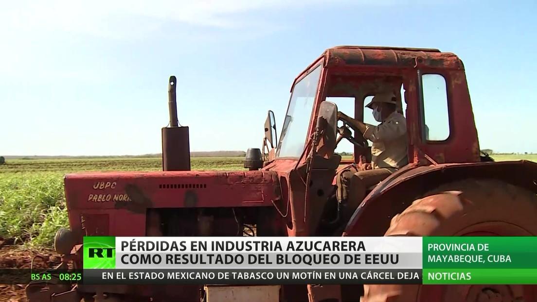 Cuba acumula pérdidas en la industria azucarera por el bloqueo de EE.UU.