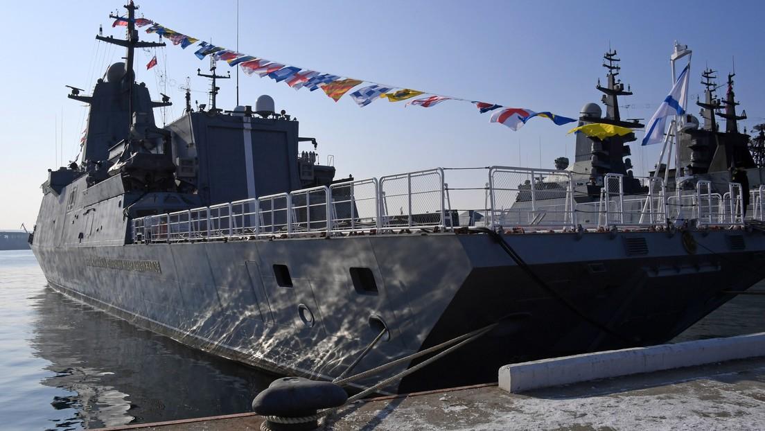 Las corbetas de baja detectabilidad de la Armada rusa podrían ser dotadas con los robots zapadores sumergibles
