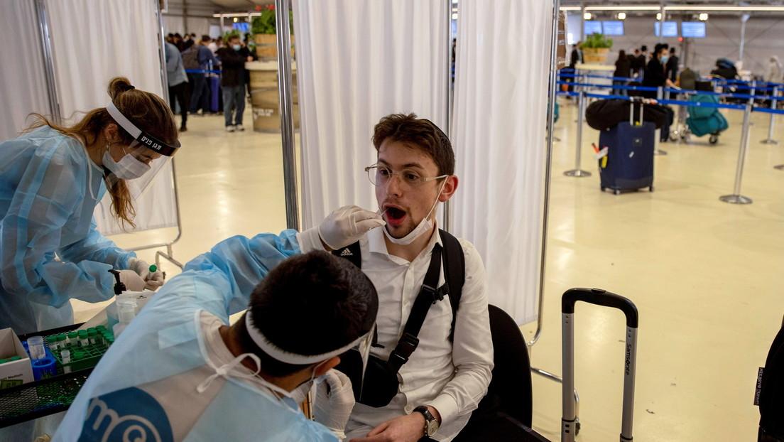 """Israel podrá imponer cuarentena obligatoria para quienes hayan estado en """"contacto cercano"""" con la peligrosa cepa Delta del coronavirus"""