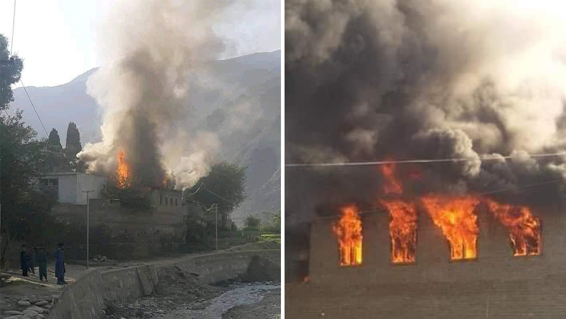 Un hospital afgano con vacunas anticovid se incendia tras un presunto ataque de los talibanes