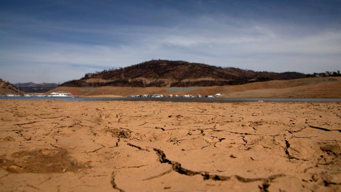 Imágenes por satélite de la Agencia Espacial Europea evidencian el terrible impacto de la sequía en California