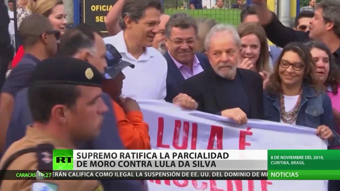 Tribunal Supremo de Brasil ratifica el parcialismo de Moro en el juicio contra Lula Da Silva
