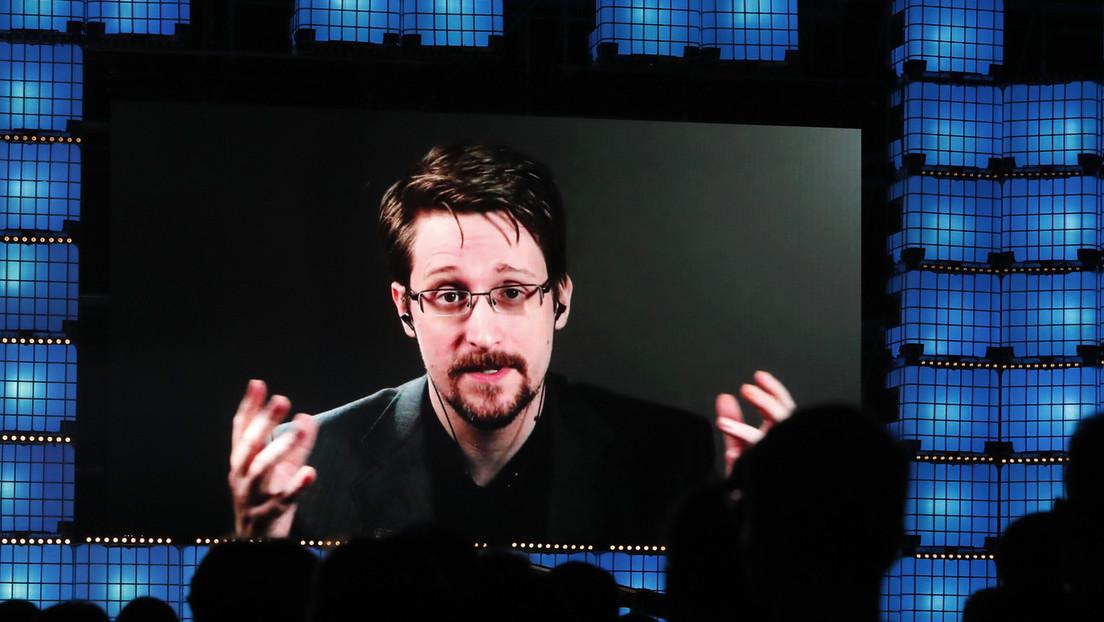 """""""Assange podría ser el siguiente"""": Edward Snowden reacciona a la muerte de John McAfee"""