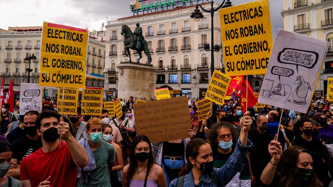 España reduce el IVA a la electricidad ante el recibo histórico de junio:  por qué se pagan precios récord y qué problemas hay en el mercado - RT