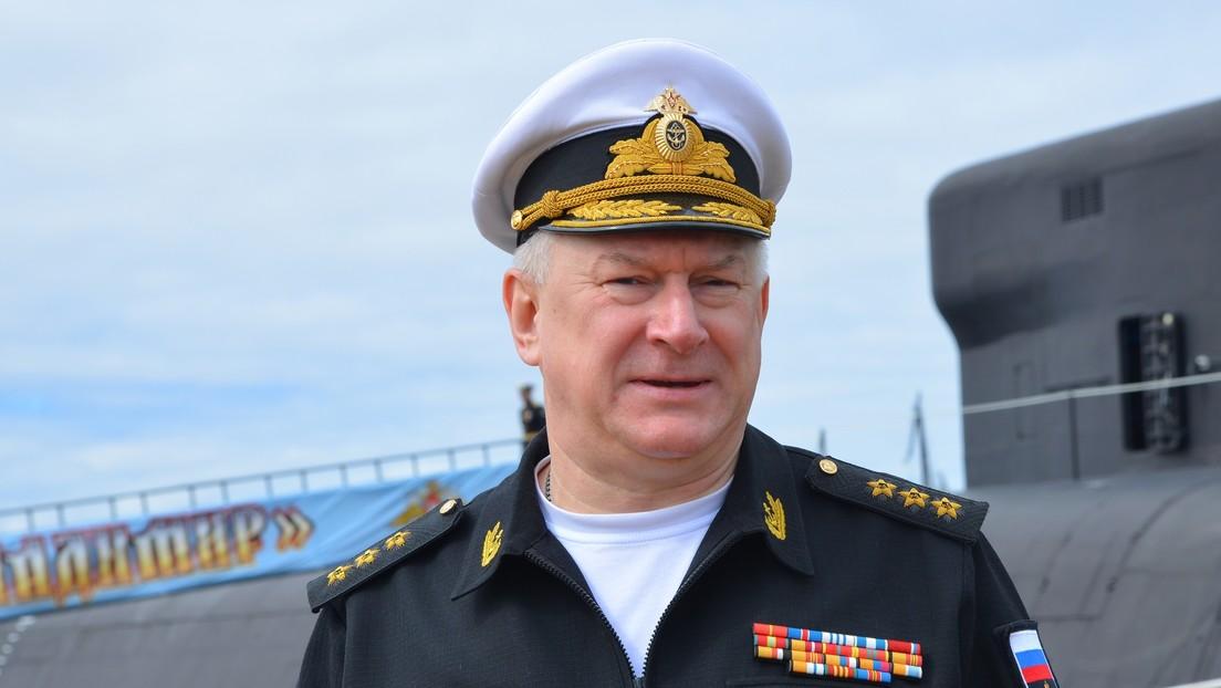 """""""Actuamos de la forma adecuada"""": el Jefe de la Armada de Rusia condena el incidente con el destructor británico"""