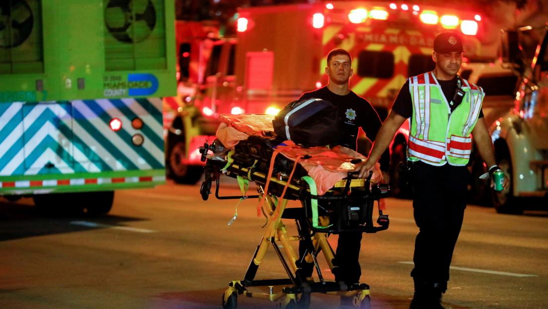 El derrumbe de un edificio de 12 plantas en Miami deja al menos un muerto y 8 heridos
